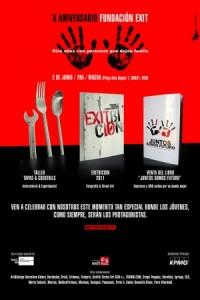 Cartell del 10è aniversari de la Fundació Èxit