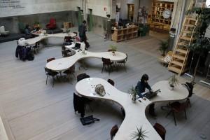 L'espai de coworking HUB Madrid. Foto CC BY-NC-SA 2.0 de madrideducacion.es