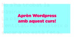 Aprèn WordPress amb aquest curs!